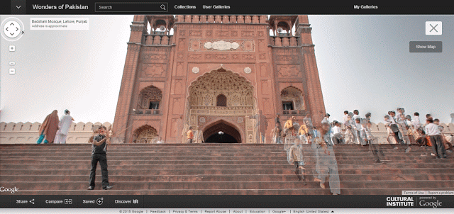 Google Street View Pakistan