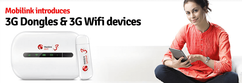 Mobilink 3G and WiFi Devices