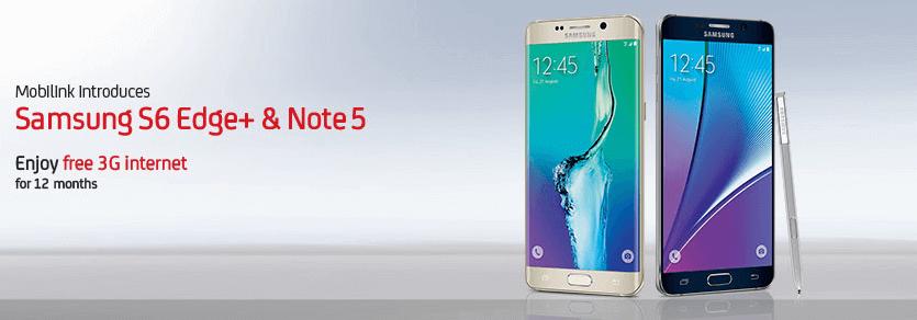 S6 Edge + Note 5