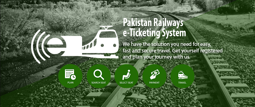 Pakistan Railways E-ticketing