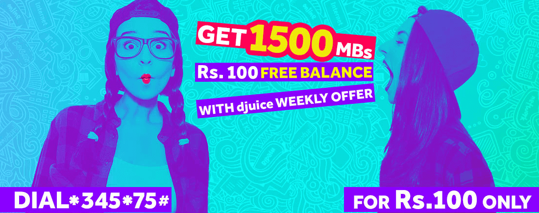 Djuice Weekly Offer