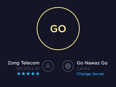 Go Nawaz Go Server