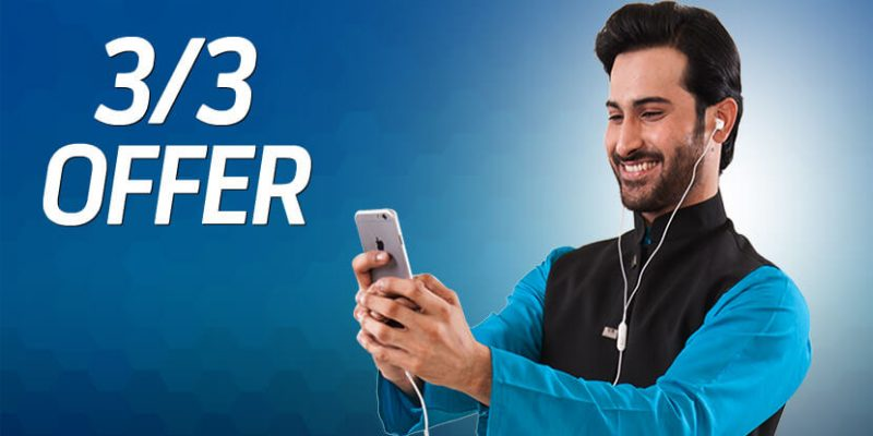 Telenor 3by3 Offer