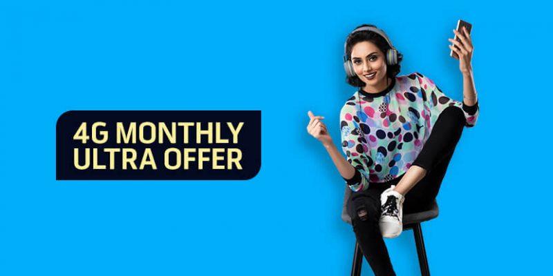 Telenor 4G Monthly Ultra