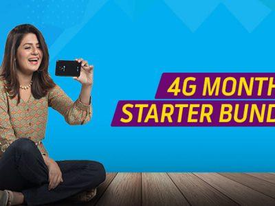 Telenor 4G monthly starter bundle