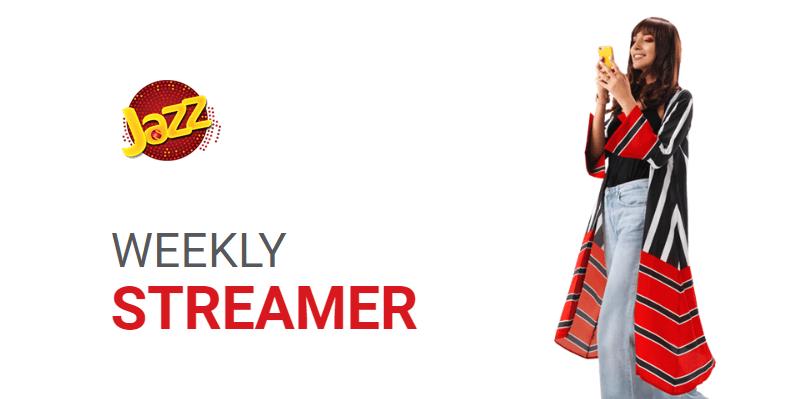 Jazz Weekly Streamer Offer