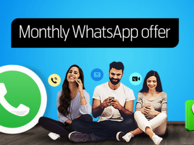 Telenr Monthly Watsapp Offer