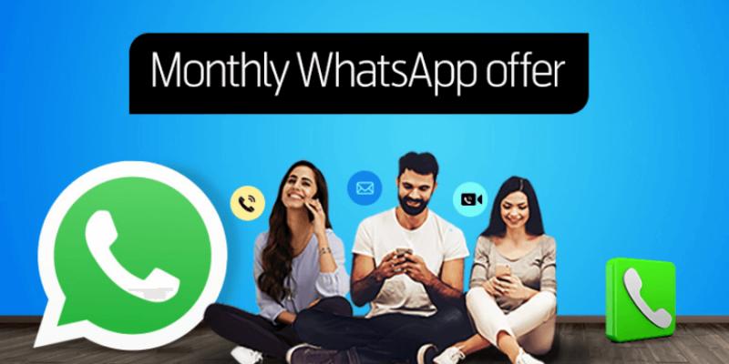 Telenr Monthly Watsapp Offer