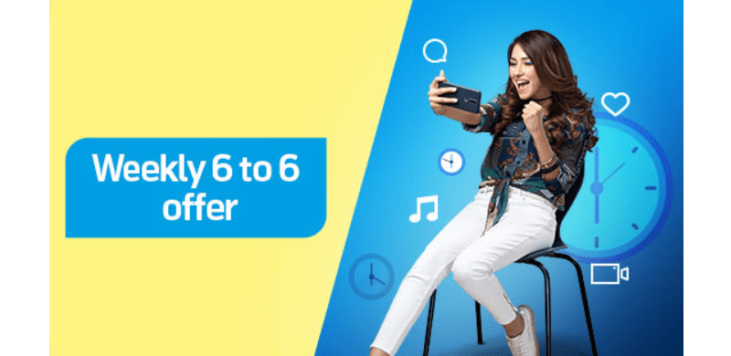 Telenor weekly 6 to 6