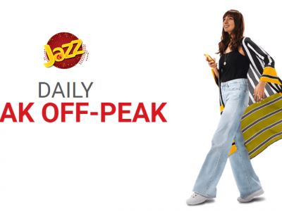 Jazz Daily Peak Off-Peak Offer
