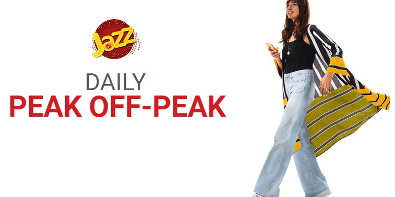 Jazz Daily Peak Off-Peak Offer