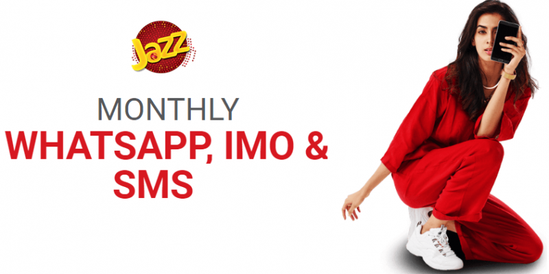 Jazz Monthly Whatsapp IMO & SMS