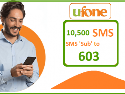 Ufone Fortnightly SMS Package