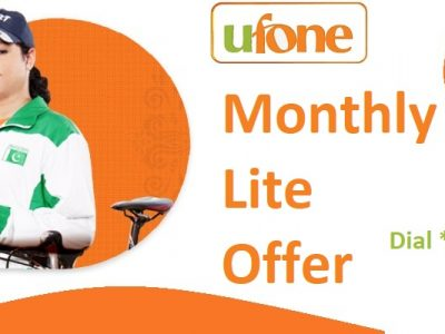 Ufone Monthly Lite Offer