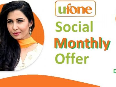Ufone Social Monthly Offer