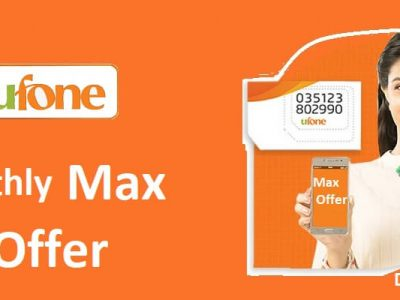 Ufone Monthly Max Offer
