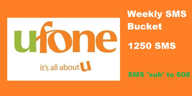 Ufone Weekly SMS