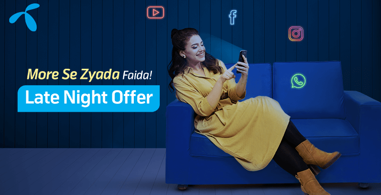 Telenor 4G Weekly Late Night Offer