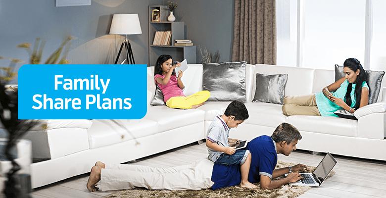 Telenor Family Share Plans